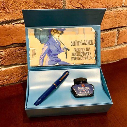 ★Perikan M120 アイコニックブルーインク付BOX