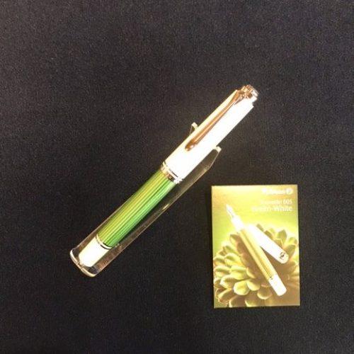 【限定】Pelikan スーベレーンM605 グリーン/ホワイト