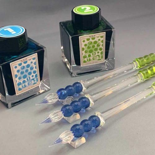 ★Penne19×工芸装置 オリジナルガラスペン「サイダーカン」