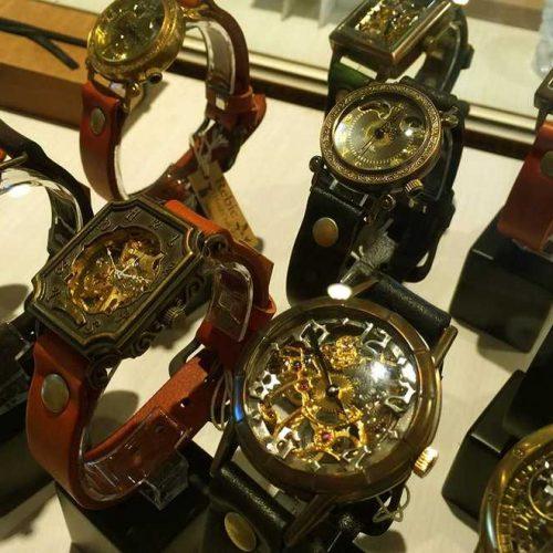 手巻き式時計 Rebic handmade Watchs