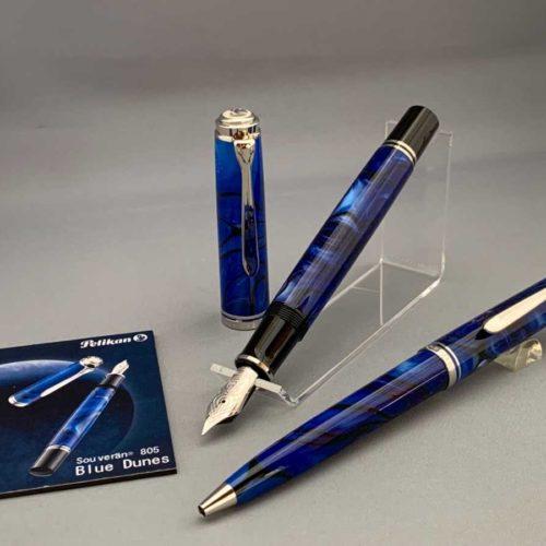 【限定品】Pelikan スーベレーン805 Blue Dune